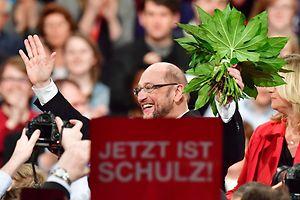 Martin Schulz: «A partir de maintenant, le combat commence pour devenir le premier parti et conquérir la chancellerie».