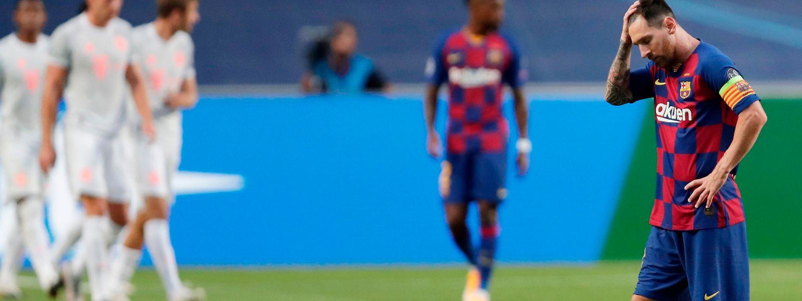 Lionel Messi und der FC Barcelona hatten keine Chance.