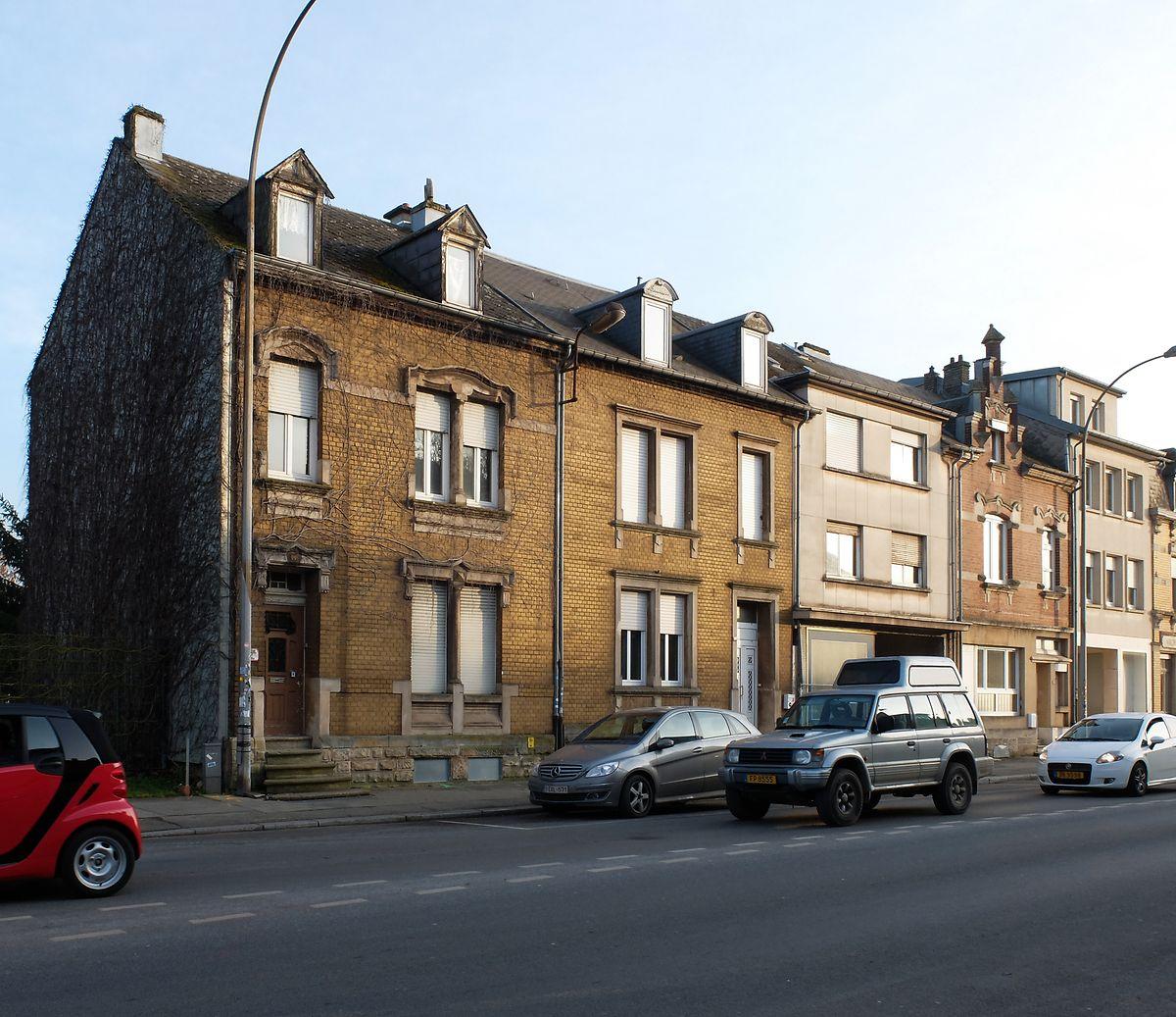 Die fixerstube in der Nummer 130 Rue de Luxembourg vor der Renovation, 03.02.2014.