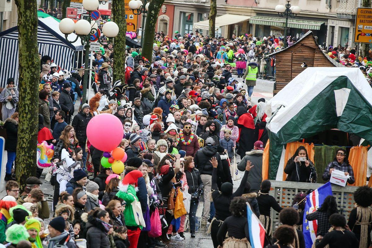 La cavalcade du carnaval date de 1870 Photo: Pierre Matgé