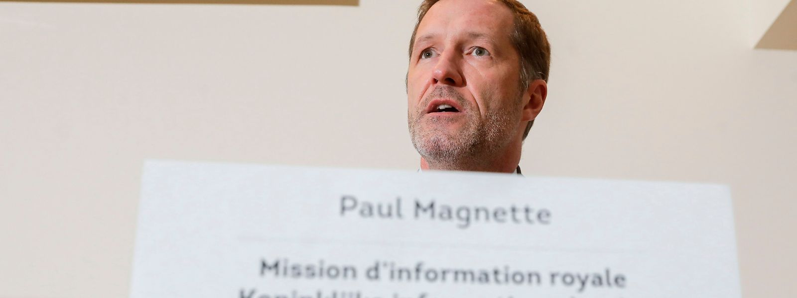 Paul Magnette a jusqu'au 9 décembre pour mener à bien la tâche qui lui a été confiée