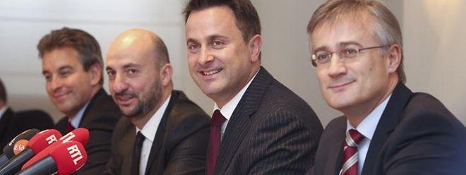 DP, LSAP und Grüne haben die Themenbereiche Beschäftigung und Außenpolitik heute finalisiert.