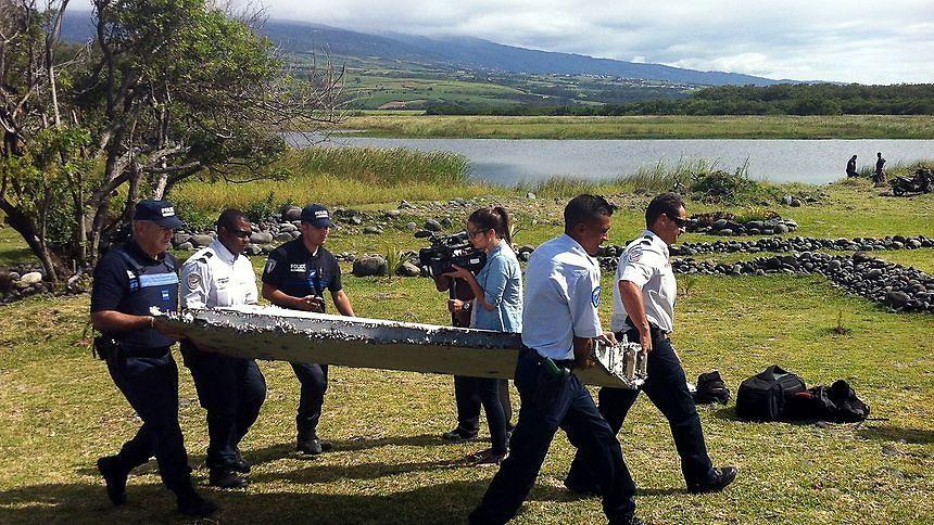 Le flapperon retrouvé près de La Réunion, dont les autorités avaient formellement établi qu'il provenait du MH370.