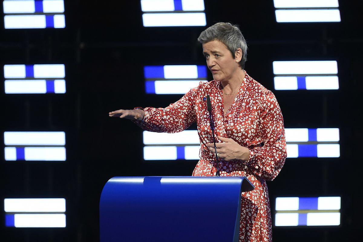Margrethe Vestager, commissaire européenne chargée de la concurrence.