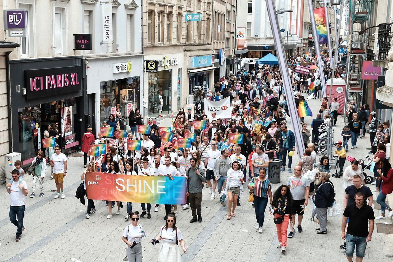 Fierté, joie, chansons, discours ont rythmé la Gaymat au centre-ville d'Esch-sur-Alzette.
