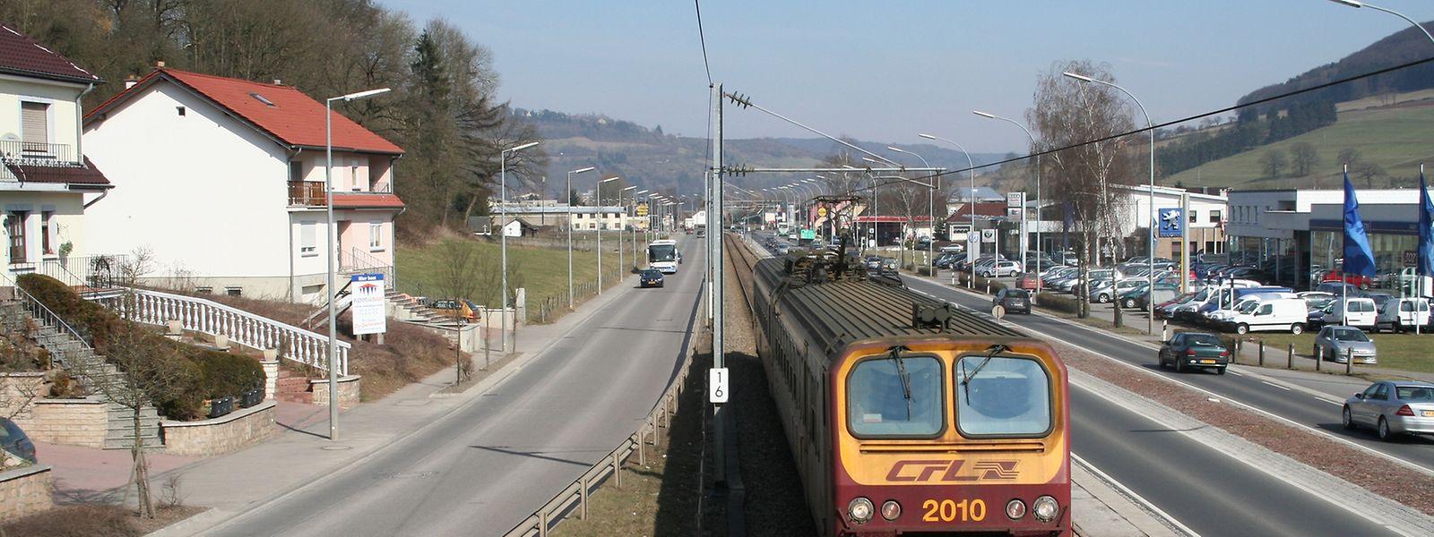 Die Zentralachse zwischen Diekirch und Ettelbrück: Mittlerweile steht fest, der Zug bleibt!