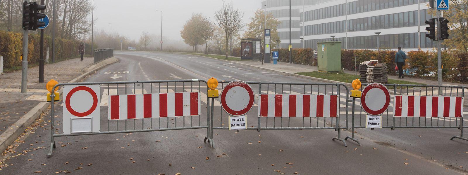 La route d'Esch sera inaccessible durant trois jours.