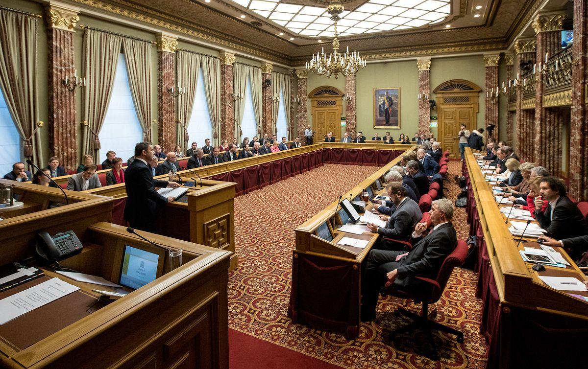 Am Dienstag hielt Xavier Bettel die Regierungserklärung, am Mittwoch folgt die Debatte in der Chamber.