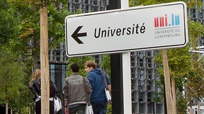 19.9. Esch/alzette / Belval / Rentre Academique Uni.lu / Uni / Studenten Foto:Guy Jallay