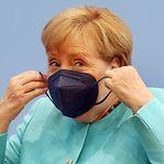 """Merkel preocupada com aumento """"exponencial"""" de novas infeções na Alemanha"""