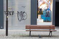Lokales, Luxembourg geht in den Lockdown II, Coronavirus, Covid-19, Grand Rue, Luxembourg Ville. Foto: Chris Karaba/Luxemburger Wort