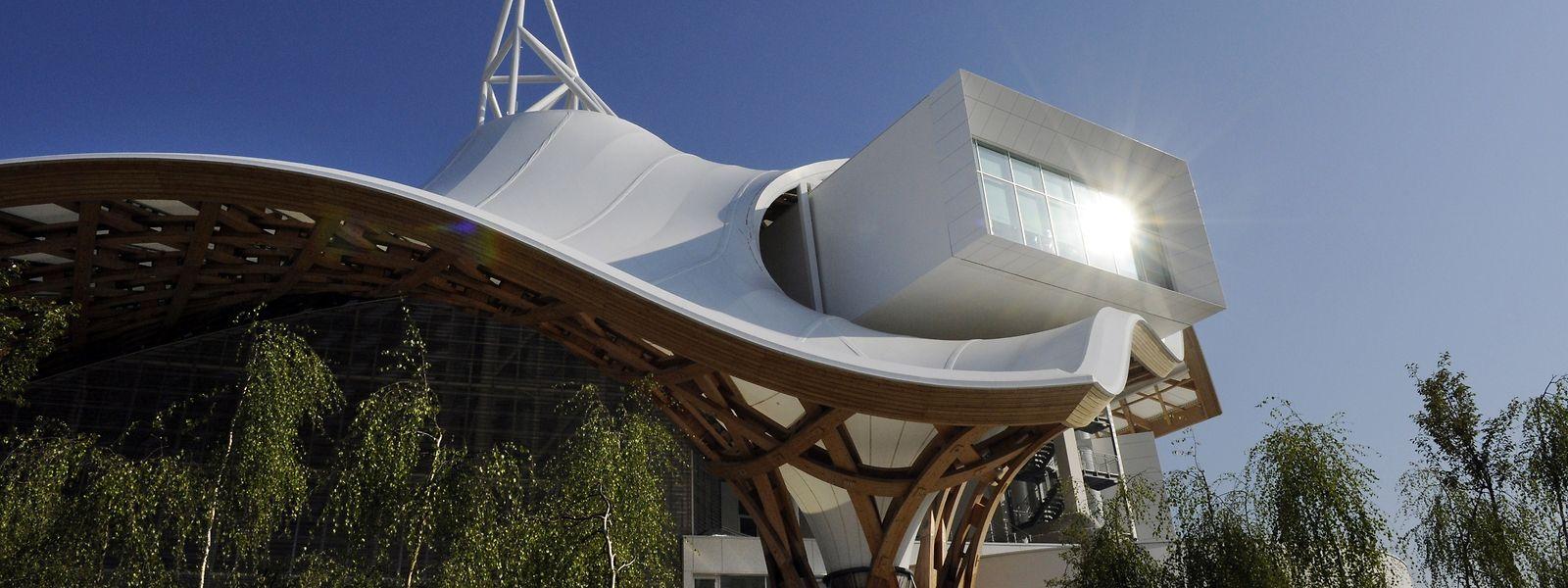"""Das Centre Pompidou-Metz, ein architektonisches und kulturelles Glanzlicht im """"Grand-Est"""" Frankreichs."""