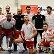 Les joueurs du Fola ont fêté cette qualification pour les huitièmes de finale de la Coupe de Luxembourg.