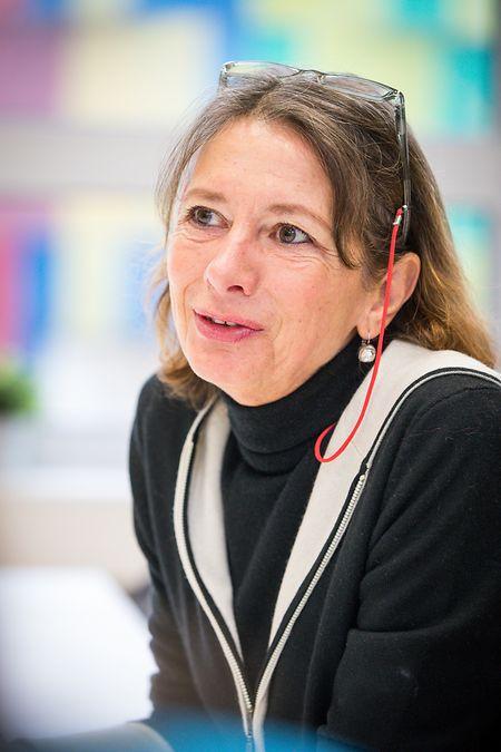 Danièle Atten ist Biologielehrerin im Kolléisch und an den diversen Hilfsprojekten der ONG beteiligt.