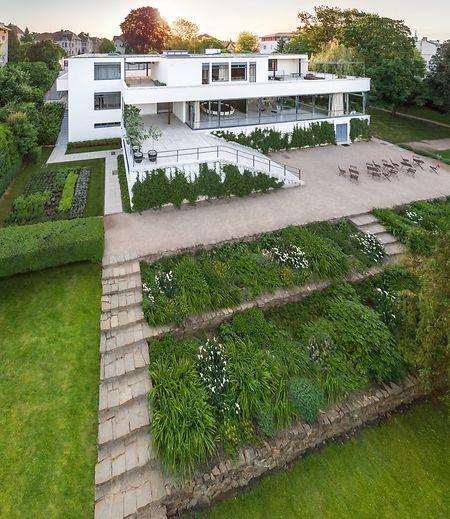 Die Villa Tugendhat in Brünn ist ein klassisches Paradebeispiel des Funktionalismus.