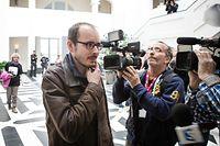 Jugement Luxleaks en appel - Antoine Deltour -  Photo : Pierre Matgé