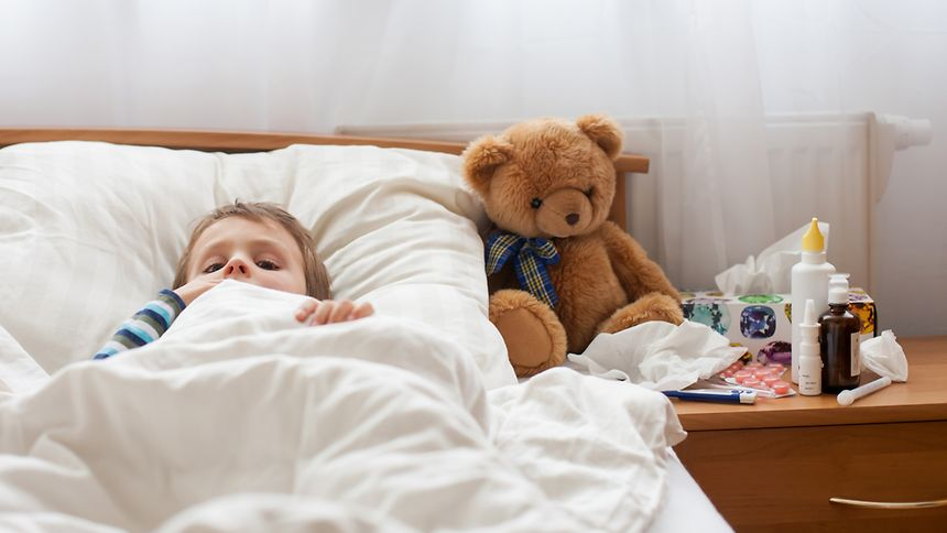 Cela devrait être plus facile désormais pour les parents de s'organiser pour garder leur petit malade