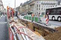 La nouvelle ligne de tram reste programmée pour fin 2020.