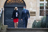 IPO,Pressebriefing Ministerrat Paulette Lenert & Xavier Bettel.Foto: Gerry Huberty/Luxemburger Wort