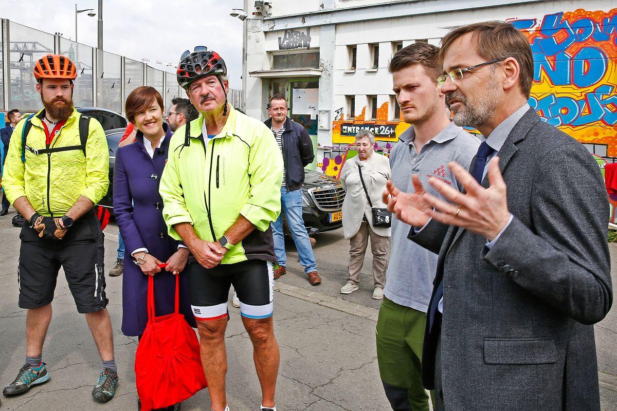 Auf dem Fahrrad zur Freundschaft: Eindrücke von Tandem Together.