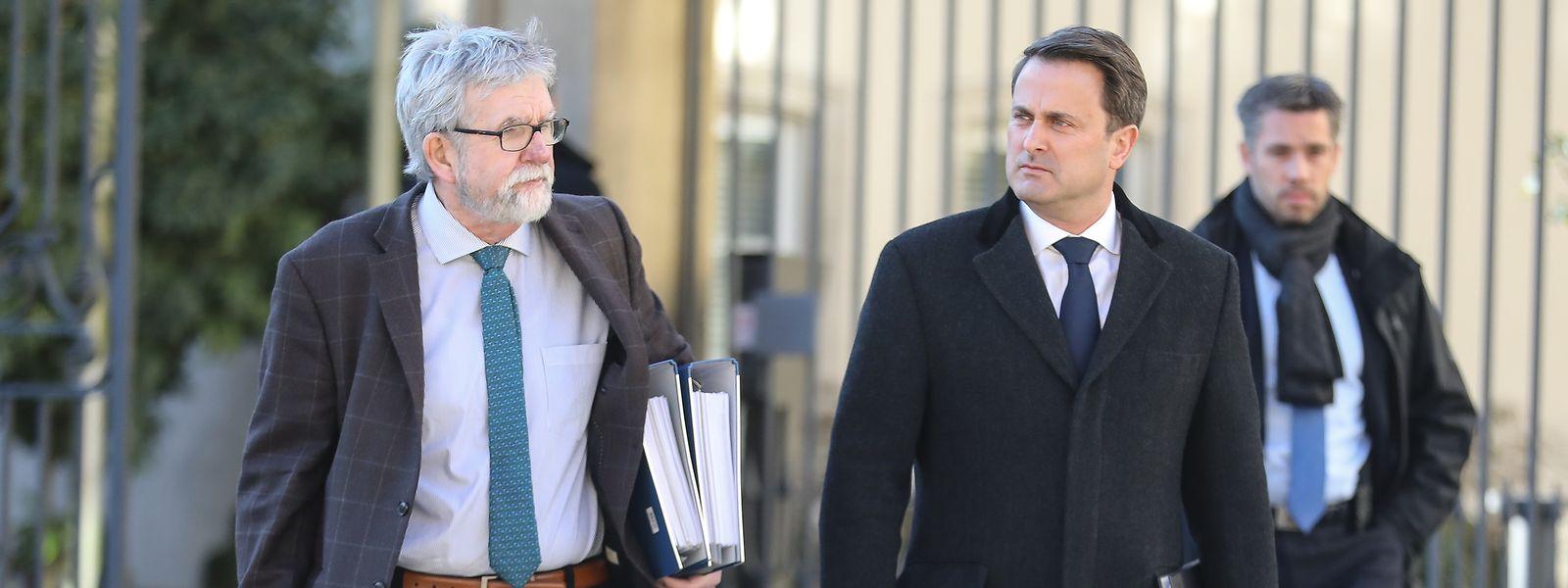 Le 5 février, Jeannot Waringo et le Premier ministre étaient venus présenter le rapport sur le fonctionnement de la cour aux députés.