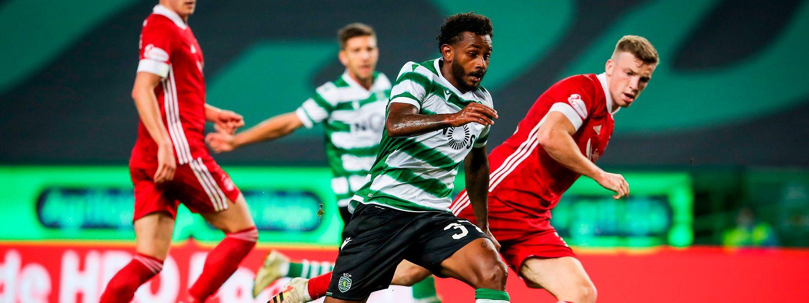 O Sporting começou a época de forma positiva, frente ao Aberdeen.