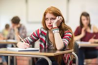 Das psychosoziale Personal in den Sekundarschulen berät Schüler, Eltern und Lehrer.