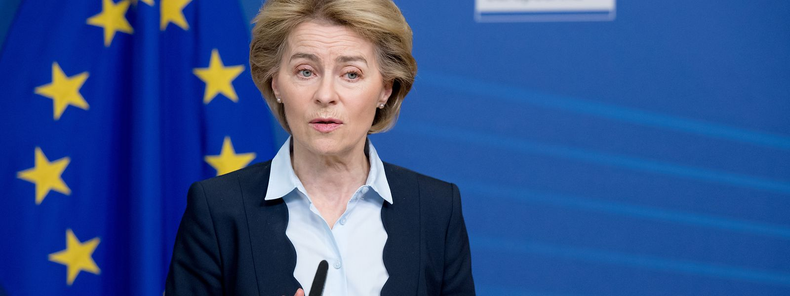 Ursula von der Leyen wirkt in Brüssel überfordert.