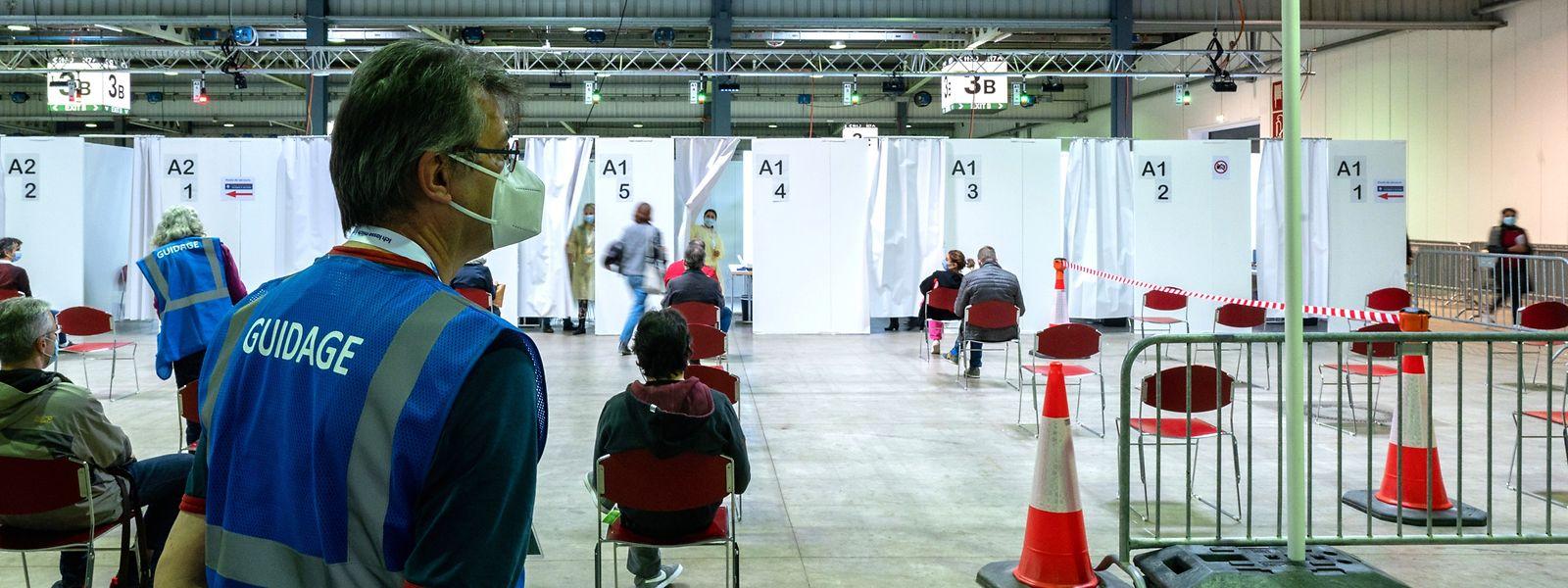 Pour le redémarrage, le centre fonctionnera avec 15 lignes de vaccination.