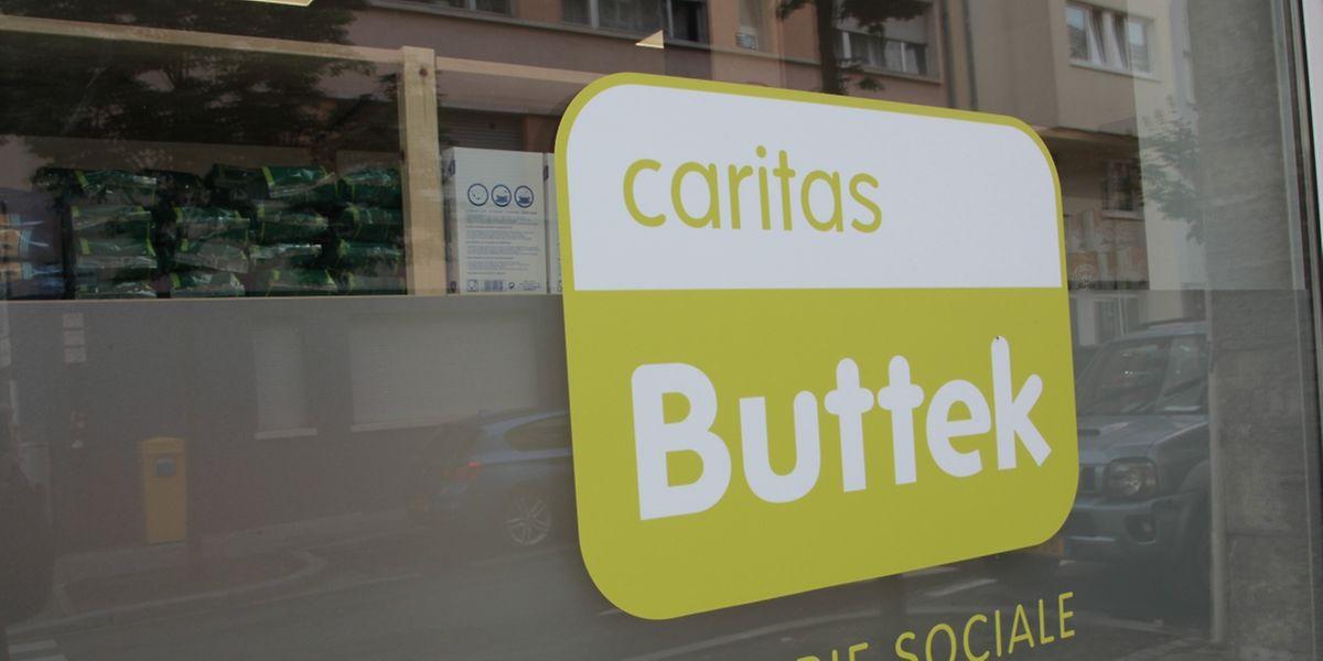 """Der vierte """"Caritas-Buttek"""" befindet sich an Nummer 21, Rue Michel Welter im Bahnhofsviertel."""