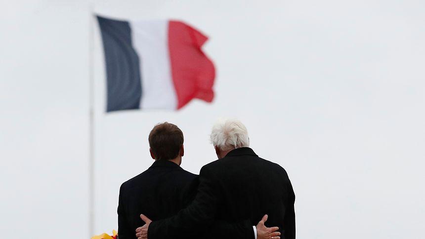 99 Jahre nach Ende des Ersten Weltkriegs: In Erinnerung geeint.