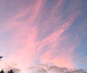 Versuche stets ein Stückchen Himmel über deinem Leben freizuhalten