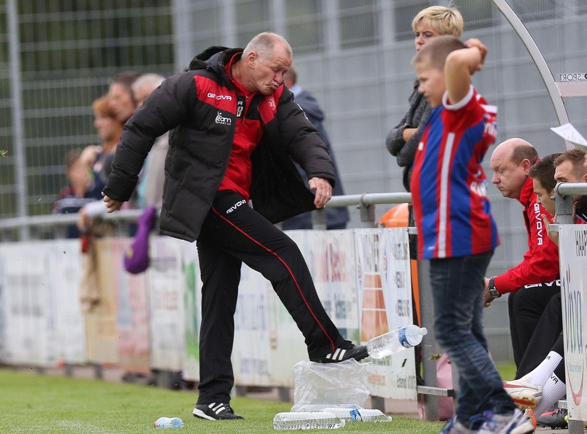 L'entraîneur de Wiltz, Henri Bossi.