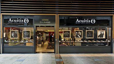 A loja Acuitis em Kirchberg.