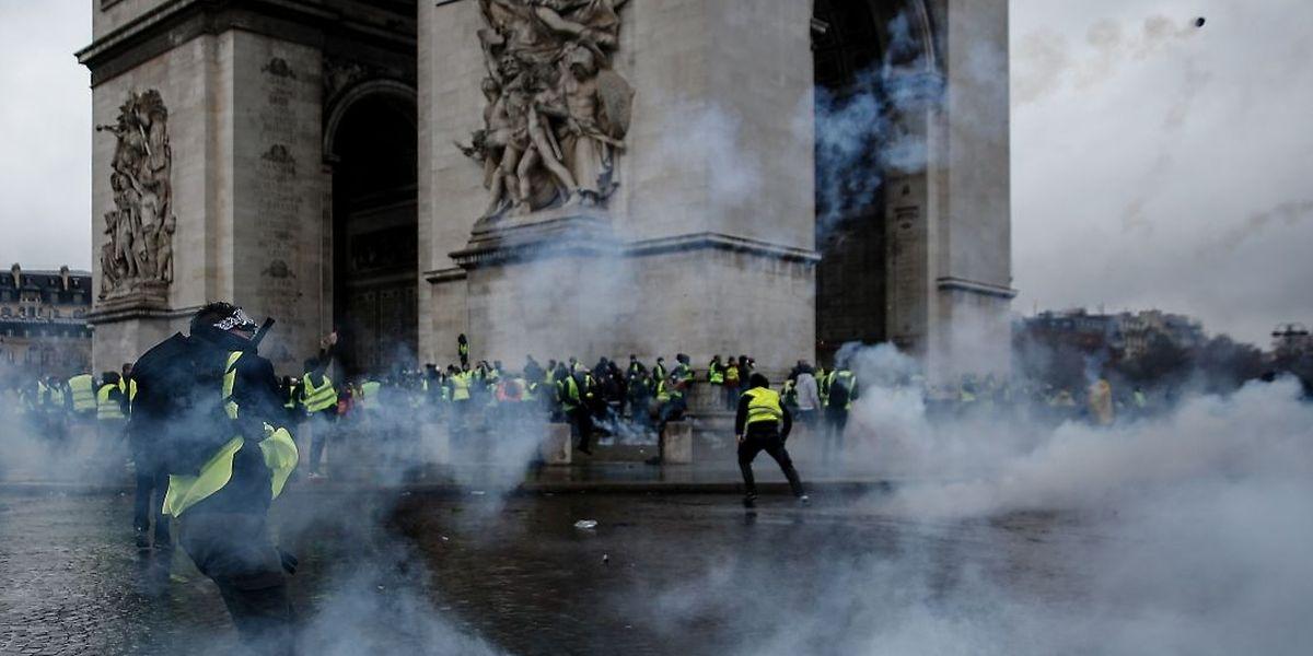 Le week-end du 1er décembre, l'Arc de Triomphe au coeur de la tourmente.