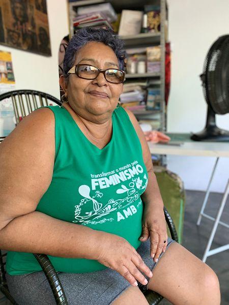"""Floresmar Ferreira (57) ist Vorsitzende des """"Movimento de Mulheres Solidárias do Amazonas (MUSAS), der """"Bewegung der solidarischen Frauen im Amazonas""""."""