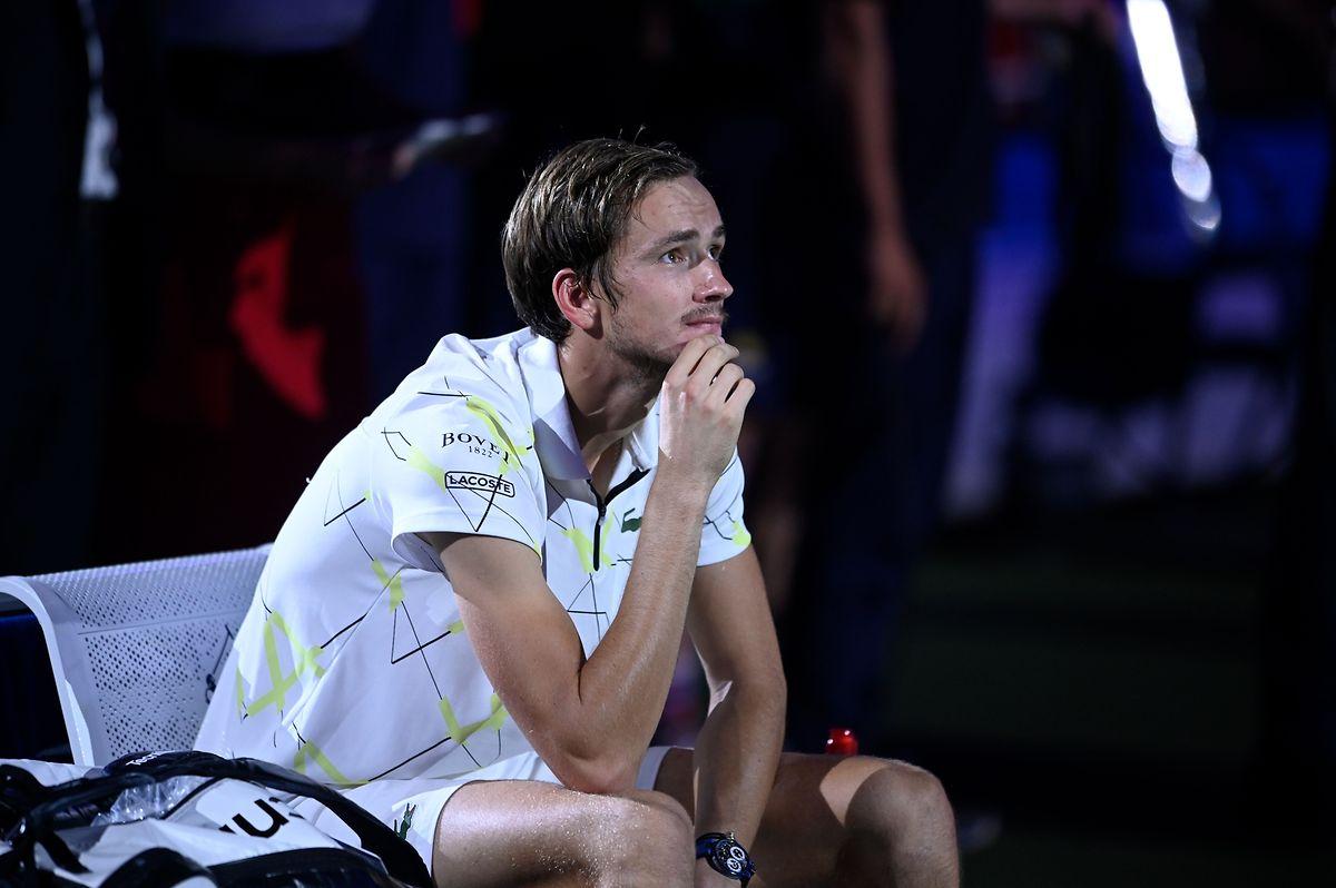Daniil Medvedev, finaliste à Flushing Meadow, pointe à 23 ans à la quatrième place mondiale.