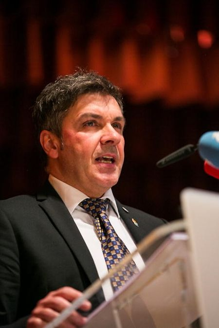 """SNPGL-Präsident Pascal Ricquier: """"Polizisten sollten auch auf einen Anwalt zurückgreifen können, wenn sie im Dienst angegriffen oder verletzt werden""""."""