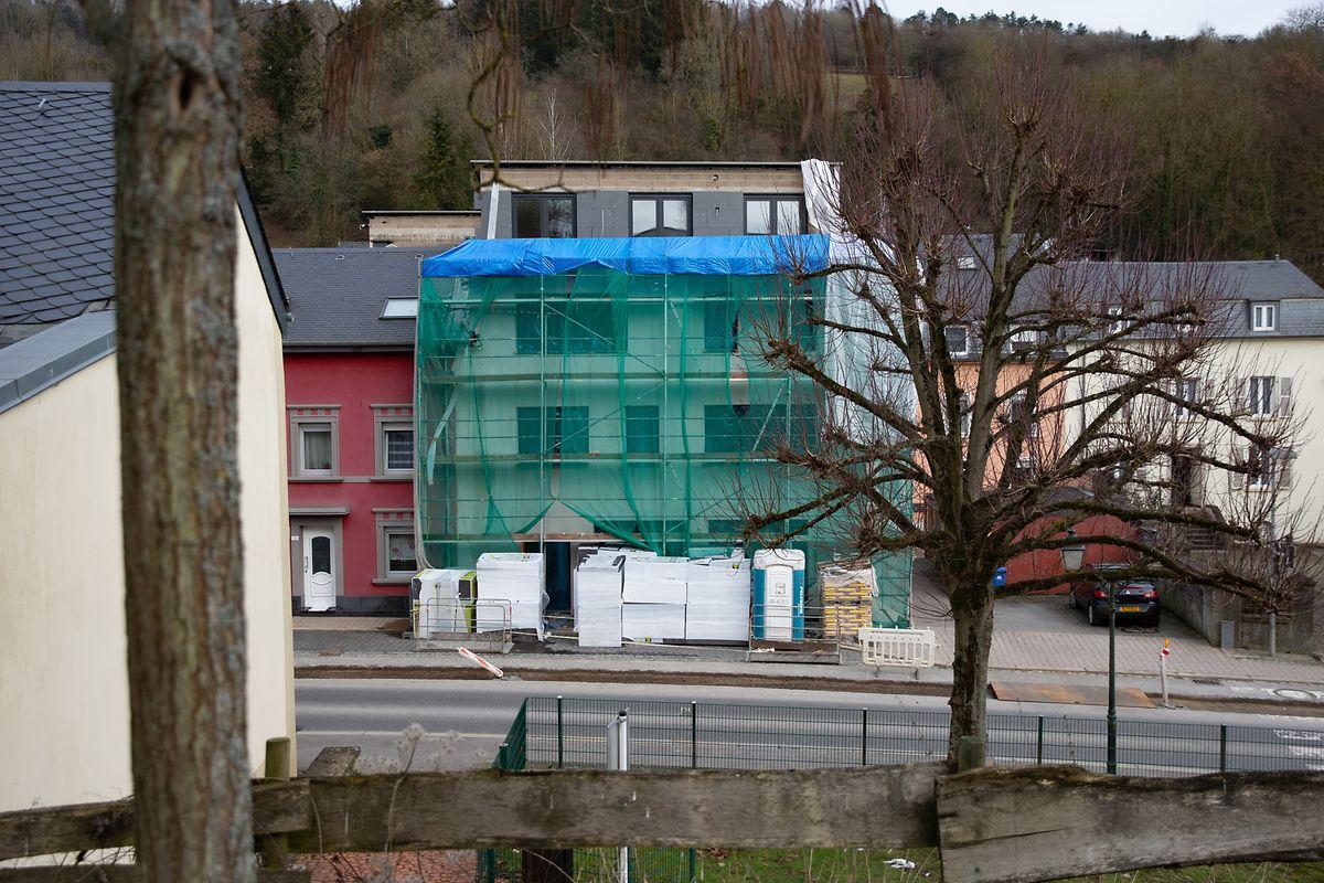 Le futur lieu de culte du Centre Culturel Islamique Nordstad est actuellement en cours de construction à Diekirch.