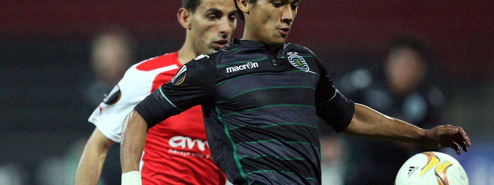 Fredy Montero e o Sporting foram goleados na Albânia