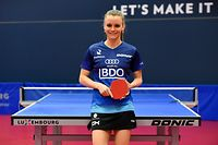Sarah De Nutte. Tennis de table. Coque, Luxembourg. Foto: Stéphane Guillaume