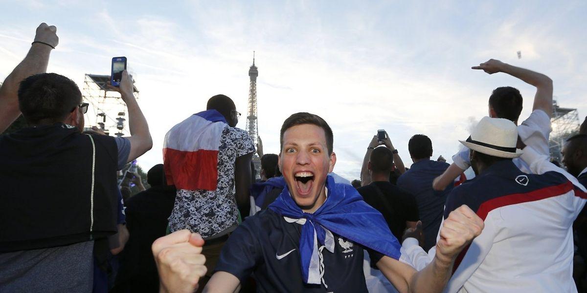 Espérons que les fans français soient dans le même état de liesse ce dimanche soir!