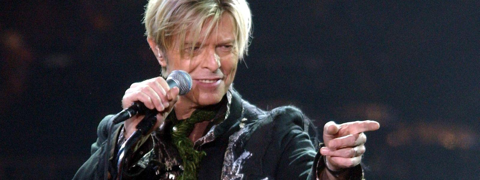 """Mit """"Starman"""" schuf David Bowie eine Weltall-Hymne."""