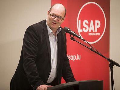 LSAP-Parteichef Claude Haagen sucht die offene Konfrontation mit Luc Frieden und der CSV.