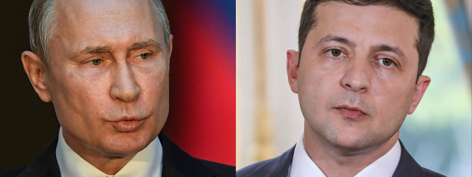 Der russische Staatspräsident Wladimir Putin und Wolodymyr Selenskyj, Staatspräsident der Ukraine, haben in einem Telefongespräch erstmals über den Konflikt in der Ukraine geredet.