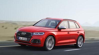Audi SQ5 Dynamic photo, Colour: Misano Red