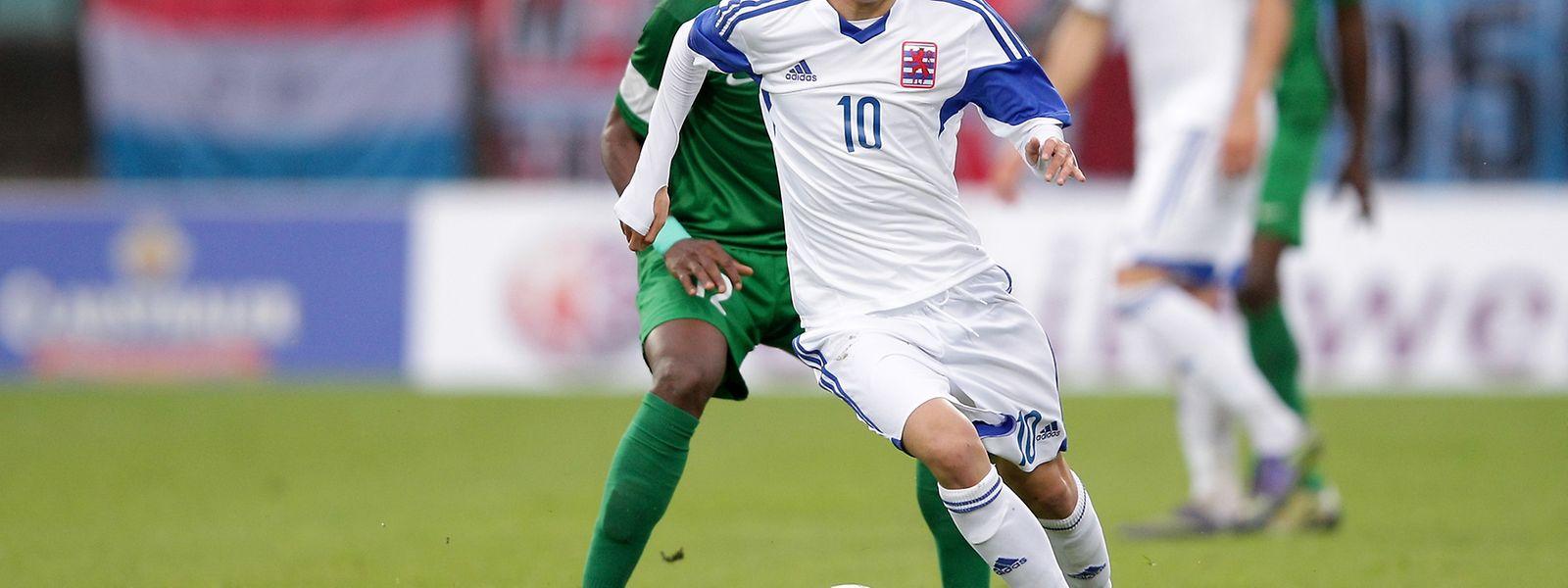 Vincent Thill erzielte sein erstes Tor im Dress der Nationalelf.