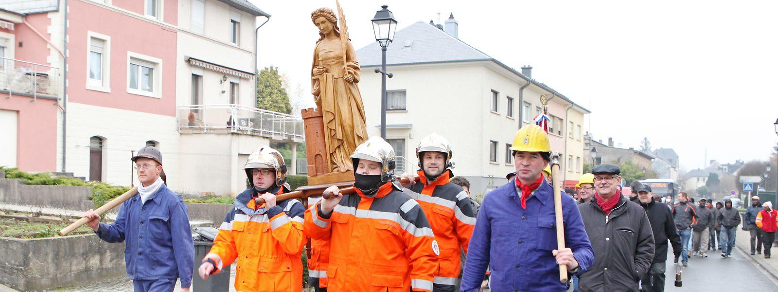 Am 4. Dezember wird Tradition der Barbarafeier in Tetingen weiterhin hoch gehalten.