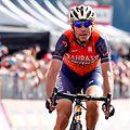 Vincenzo Nibali schloss erst kurz vor Schluss zu den Spitzenreitern auf.