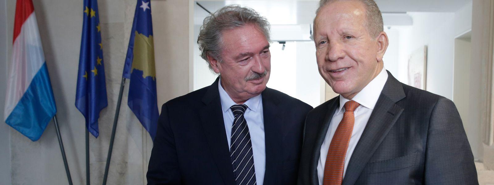 Jean Asselborn will seinen kosovarischen Amtskollegen Bhegjet Pacolli unter anderem beim Bestreben nach Visafreiheit unterstützen.